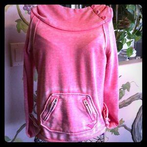 Roxy Pink Hoodie Size XS